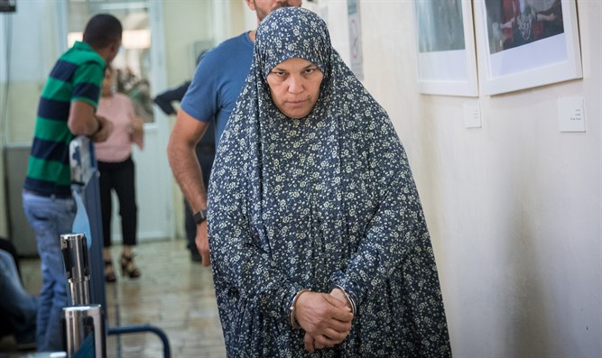 Mother of one of the terrorists from the Damascus Gate attack