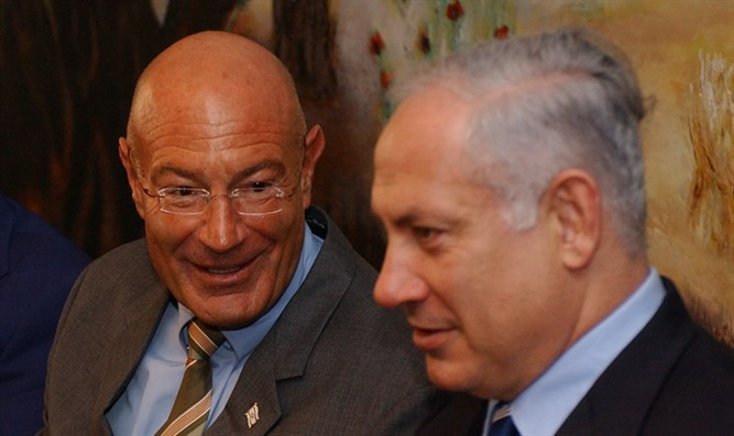 Milchan and Netanyahu