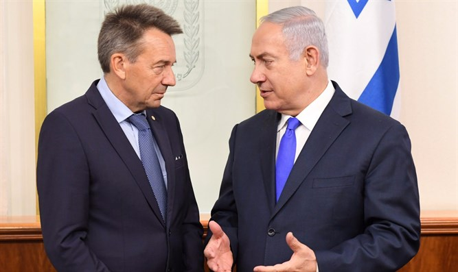 Netanyahu and Maurer