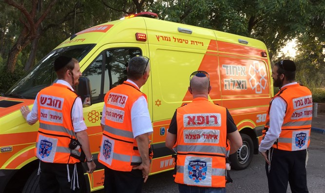 United Hatzalah ambulance