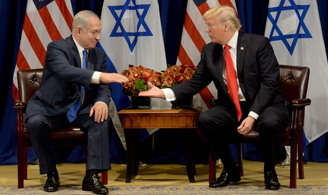 Netanyahu and Trump meet