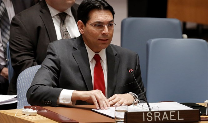 Danon: UN cooperating with terror