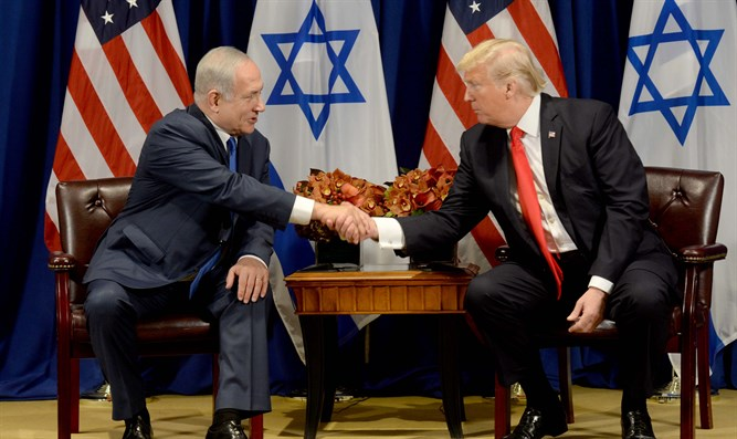 Trump and Netanyahu