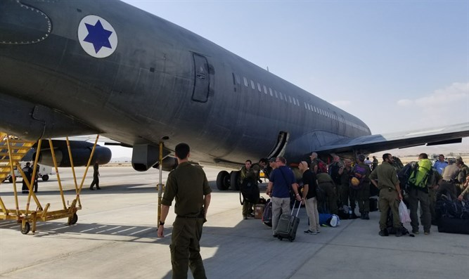 IDF delegation lands in Mexico