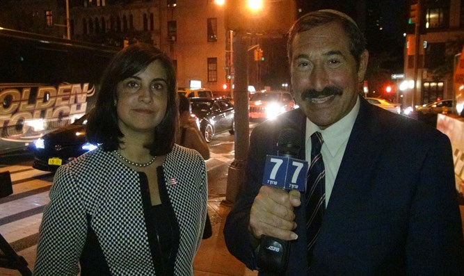 Nicole Malliotakis and Dr. Joseph Frager