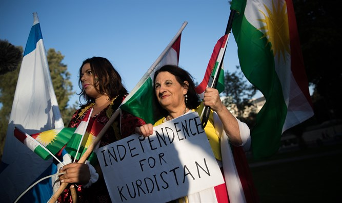 Israeli demonstration for Kurdistan