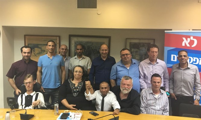 Negotiations between Histadrut and disable persons