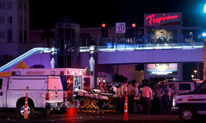 Scene of Las Vegas shooting
