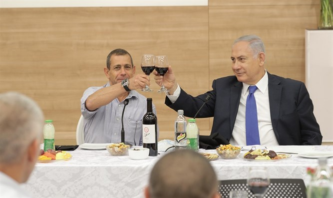 Netanyahu and Shin Bet Chief Nadav Argaman