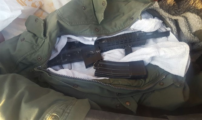Gun seized by IDF forces