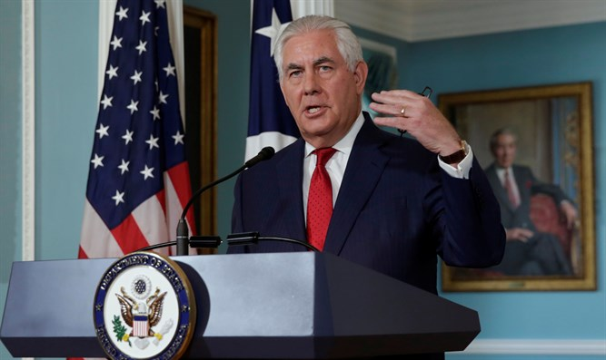 Tillerson says United States