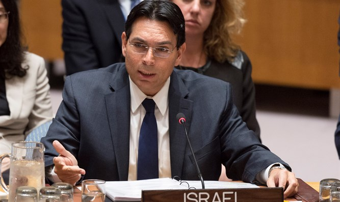 Danon addresses security council