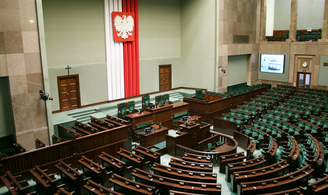Poland's Sejm (Lower house of Parliament)
