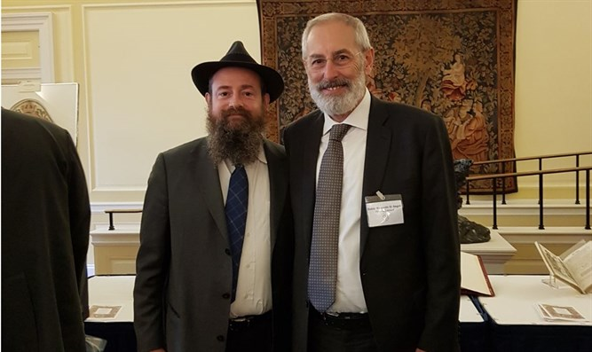 Rabbi Menachem Even-Israel and Rome Rabbi Riccardo Rabbi Riccardo Di Segni