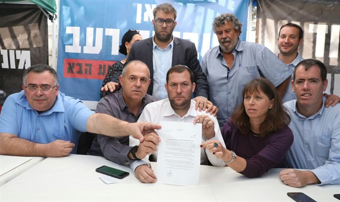 Agreement on Judea and Samaria security upgrades