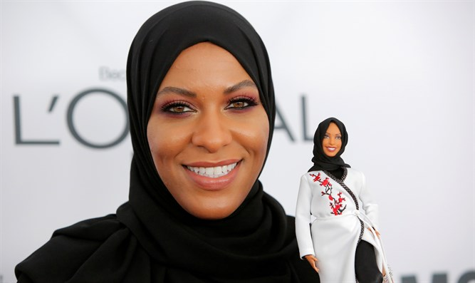 Ibtihaj Muhammad and the hijab-wearing Barbie doll