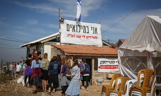 Demolished shop in Netiv Ha'avot