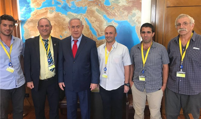 Netanyahu meets Jerusalem Belt Forum members