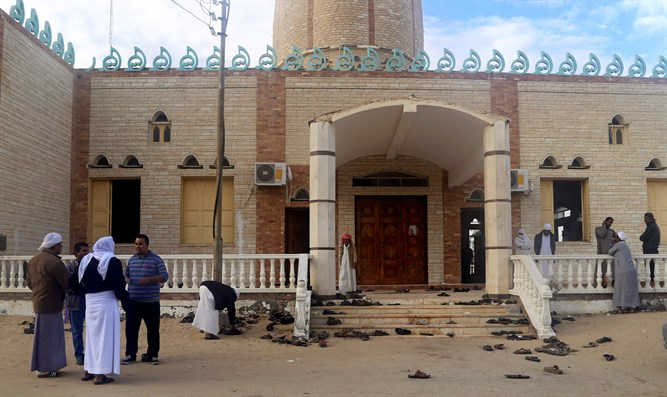 The mosque attacked on Friday