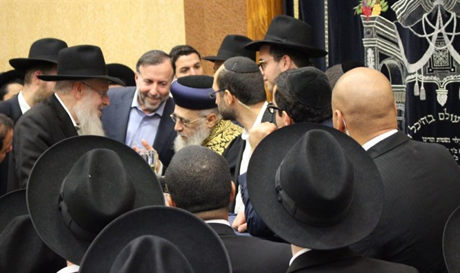 Rabbi Yitzhak Yosef at Yeshivah Gedolah of Los Angeles