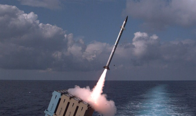 Successful Iron Dome test today