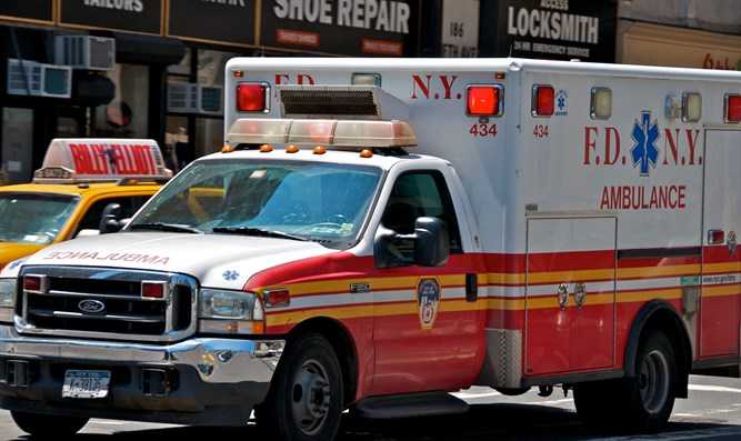 Ambulance in Manhattan