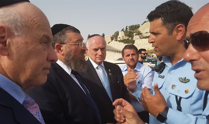 Ben Tzur visiting Mount of Olives