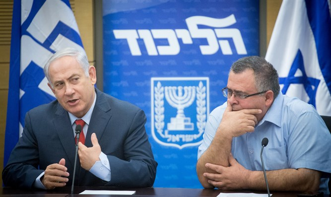 Netanyahu and David Bitan