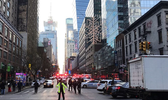 site of Manhattan attack
