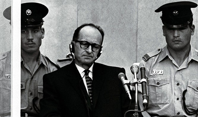 Eichmann on trial