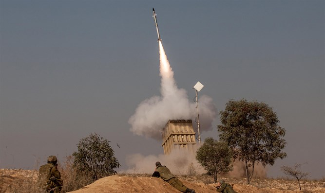 Iron Dome in operation