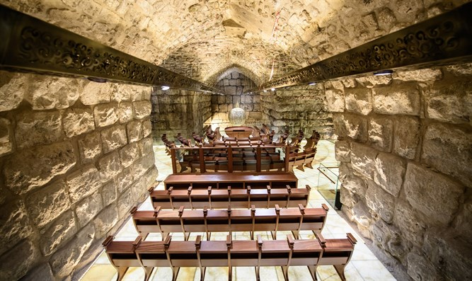 The New Synagogue in the Western Wall Tunnels