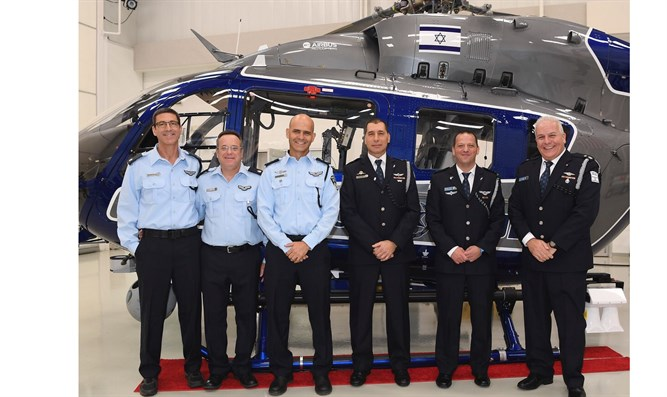 Receiving new helicopters