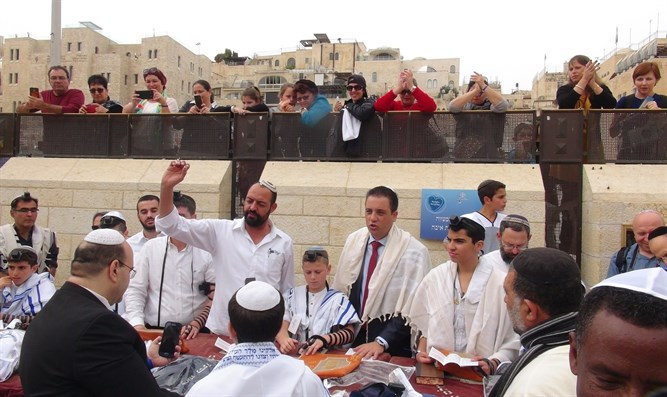 Bar mitzvah for terror victims