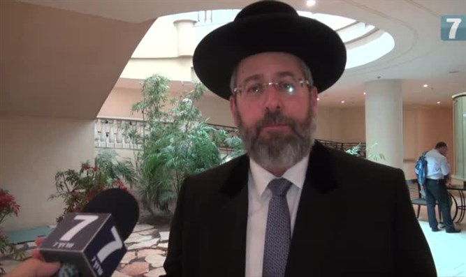 'It depends on us.' Rabbi Lau