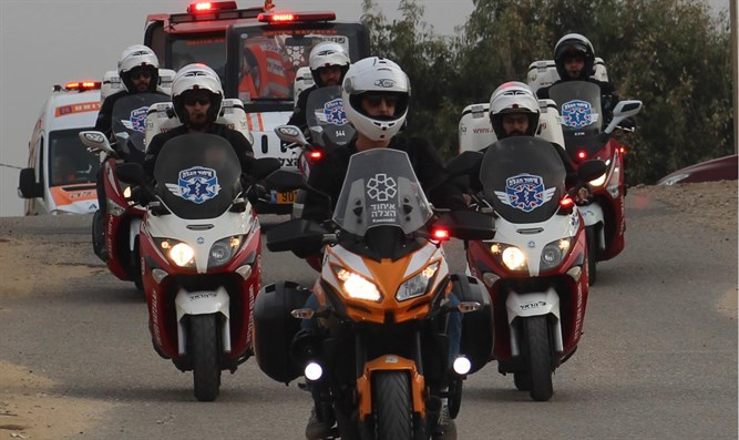 United Hatzalah volunteers