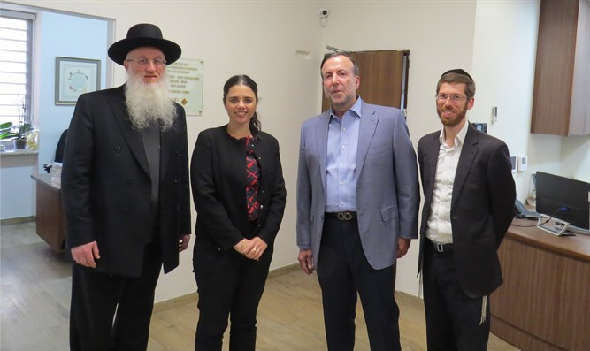 Meeting with Justice Minister Ayelet Shaked