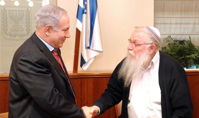 Netanyahu and Rabbi Druckman