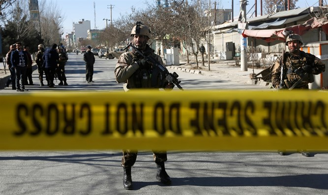 Scene of ISIS attack in Kabul
