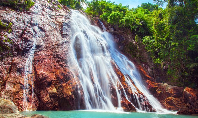 Waterfall in Ko Samui