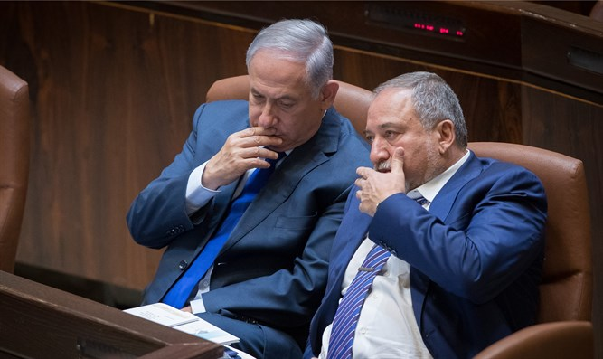 Netanyahu and Liberman