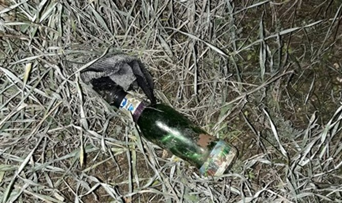 Firebomb discovered by IDF forces
