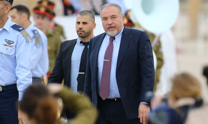 Defense Minister Liberman