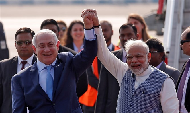Netanyahu and Modi