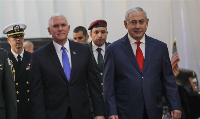 Pence says USA will open embassy in Jerusalem next year