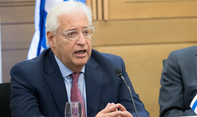 David Friedman in the Knesset