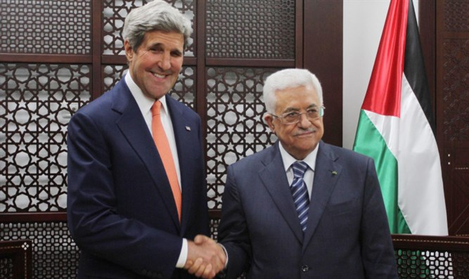 Kerry Tells Palestinians to Hold Out Against Trump