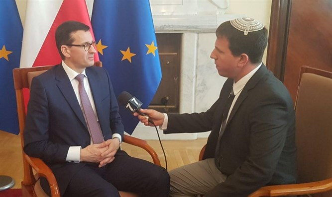 Poland's Prime Minister speaks with Arutz Sheva
