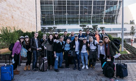 Group photo of Olim