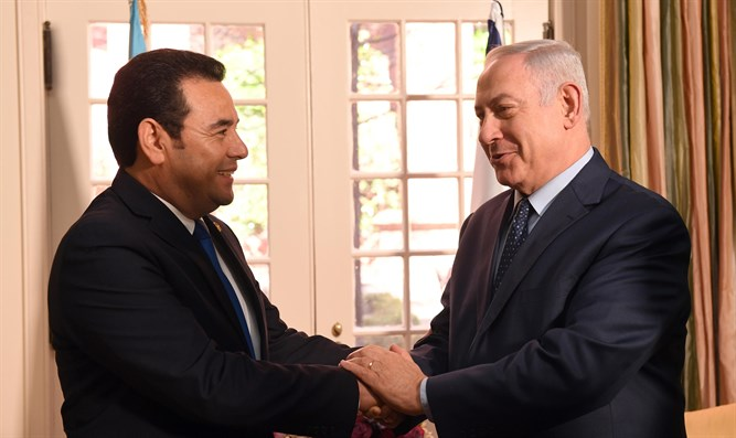 Guatemala Will Move Its Israel Embassy to Jerusalem in May